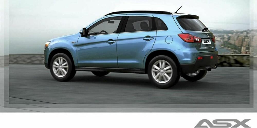 FORD KUGA? Nei, dette er Mitsubishis kommende mini-SUV ASX.