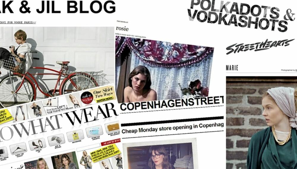 MOTEBLOGGER: De beste bloggene som skrive om mote og skjønnhet.