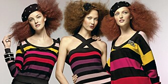 STRIKK: Sonia Rykiel har laget en egen strikkekolleksjon for HogM.