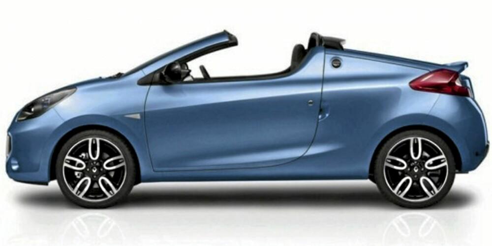 I VINDEN: Renaults minicab egner seg til blant annet bykjøring.