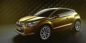 ALT-I-ETT: DS High Rider er en mix av coupé, SUV og kompaktbil. Den har også dieselhybrid-drivverk.