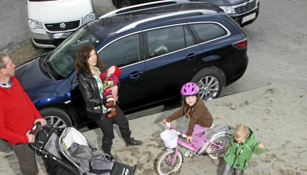 FORSKJELLIGE TYPER: Familiebiler kommer i mange fasonger, og alle har sine fordeler og ulemper.