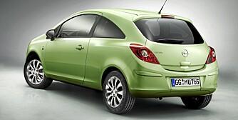 111 LIMITED EDITION: Opel begynte med produksjon av sykler og symaskiner, men har bygget biler i hundreogelleve år i år. Derav jubileumsnavnet.