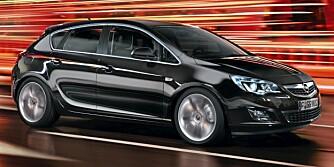 VIKTIG MODELL: Nye Astra ble lansert i januar, og Opel er helt avhengig av at bilen selger godt.