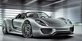 GROM: Porsches nye konseptbil, 918 Spyder, er heftig.