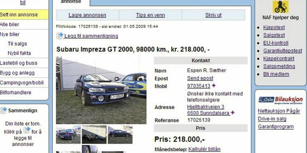 bruktbil under 200000