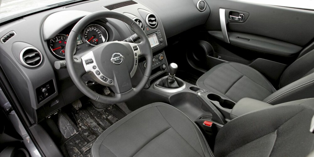 Nissan Qashqai facelift 2010
