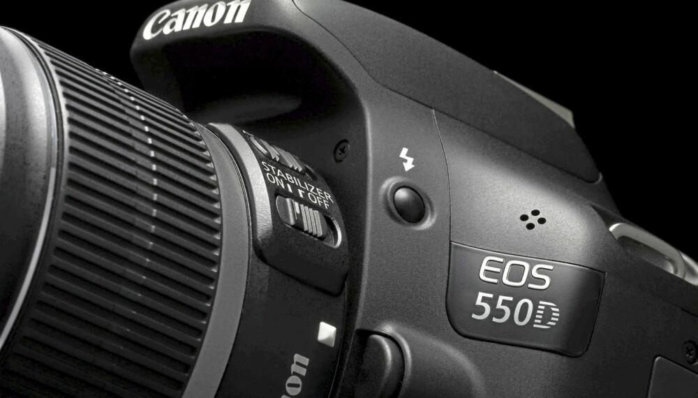 NYKOMMER: Canon EOS 550D er det nyeste tilskuddet blant Canons forbrukerkameraer.