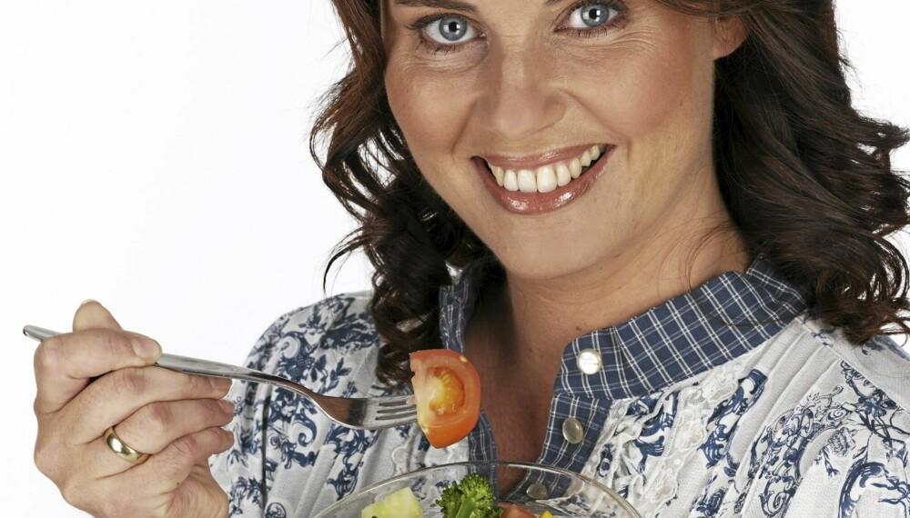 SPIS HJERTEVENNLIG:  I dag dør flere kvinner av hjertesykdom enn menn. Hjertevennlig kosthold er viktig for å holde seg frisk.