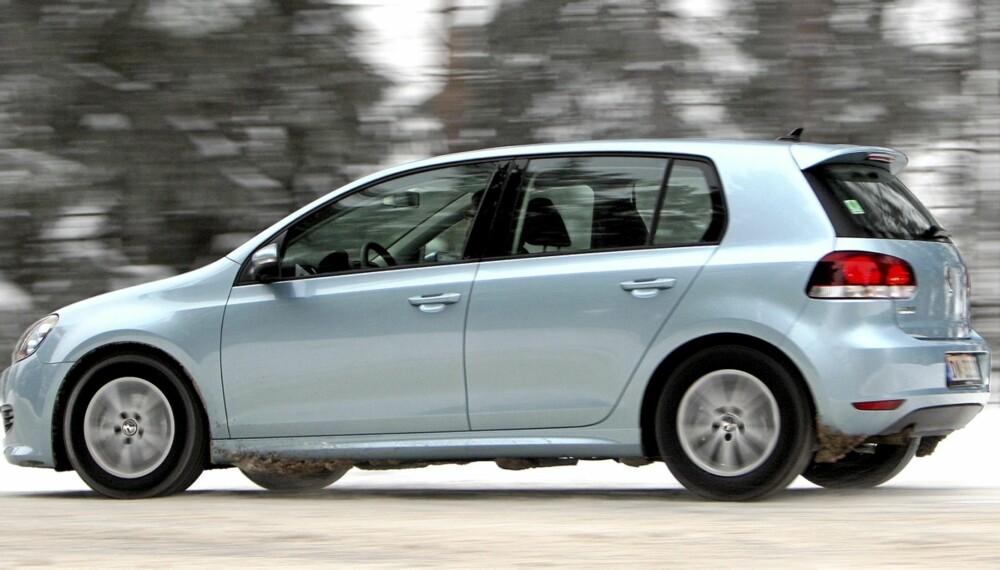 HOLDER SEG: Biløkonomene i LeasePlan tror Volkswagen Golf med 1,6-liters dieselmotor vil være blant modellene som holder seg best i pris.