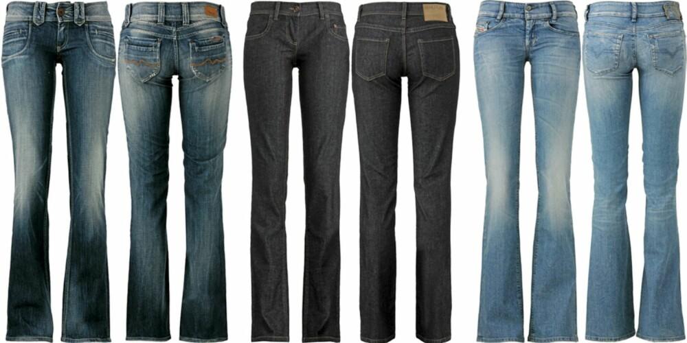 1efb51c0 FRA VENSTRE: Pepe Jeans (kr 1199), Benetton (kr 499),