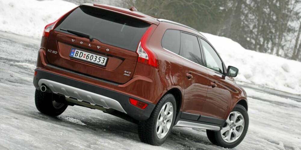 BRUKSBIL: Volvoen byr på et tilnærmet perfekt kompromiss for daglig bruk.