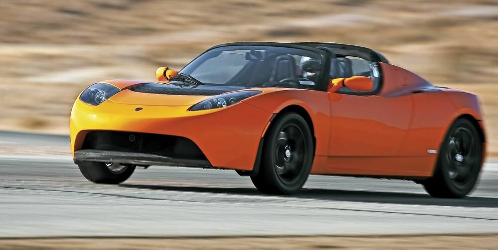 STERKSTRØM: Elmotoren er på hele 292 hk. Du kan kjøre inntil 35 mil, men da skal du puse forsiktig med gasspedalen.