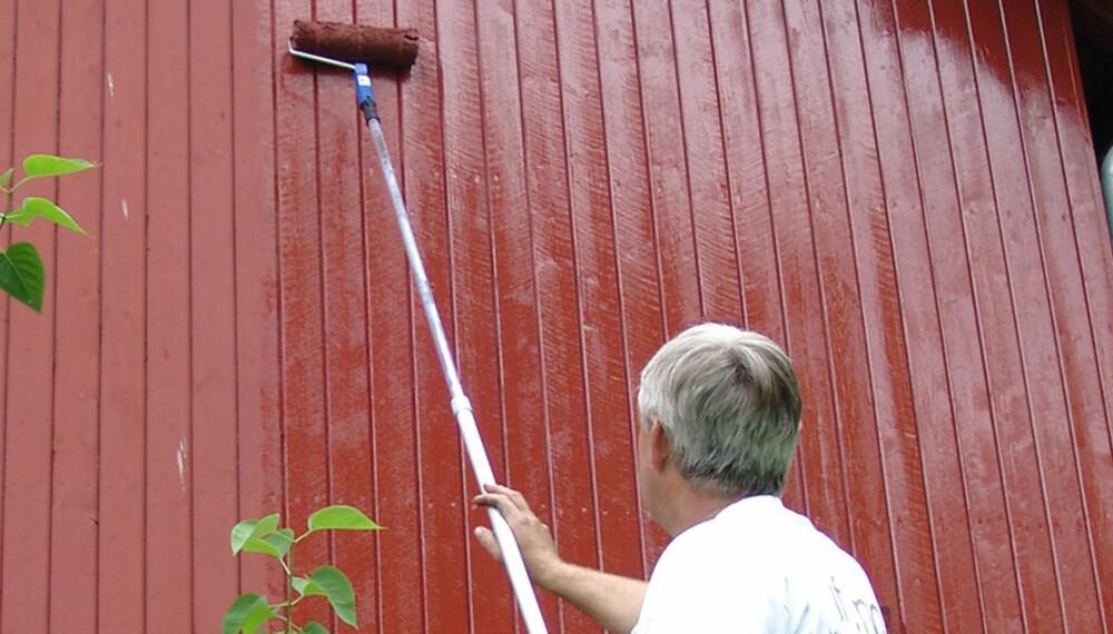 HUSMALING: Årets mest hektiske uker for utendørs maling står for tur.