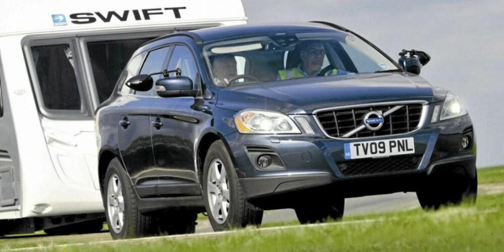 XC60: Golfen er fin, men en XC60 med D5-motor og AWD er nok drømmen for vognfolk flest.