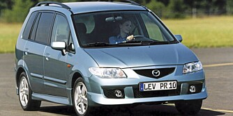 Mazda Premacy, 99-04.