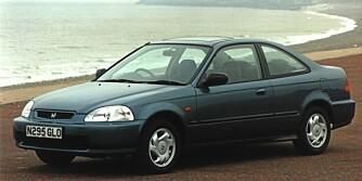 Honda Civic, 1996-2001.