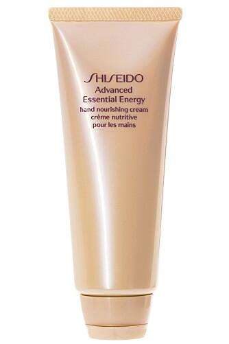 SHISEIDO: Advanced Essential Energy Hand Nourishing Cream (kr 225).