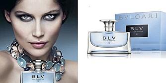 HVALSPY BLIR LIFLIG DUFT: BLV-parfymen inneholder ambergris.