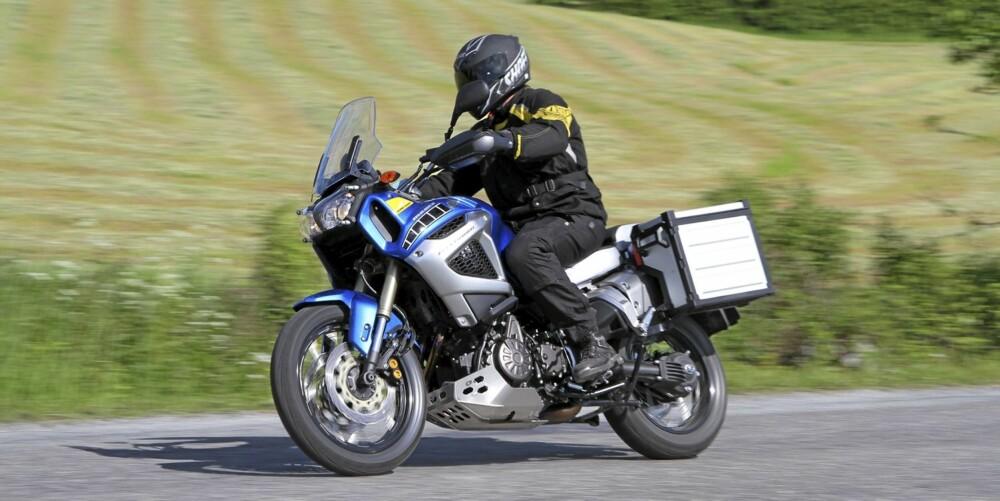 POTENT SAK: De fine veiegenskapene toppes av bremser som rett og slett er mega.