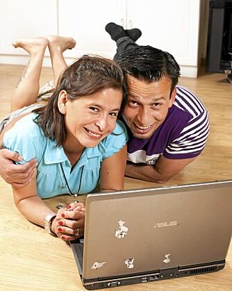 GJENSYN: Ti år etter det første møtet i Colombia fant Maria tvillingbroren Pedro igjen på Facebook.