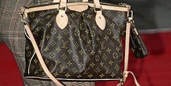 HARRY: Pragende logoer på luksusvesker er helt ut.