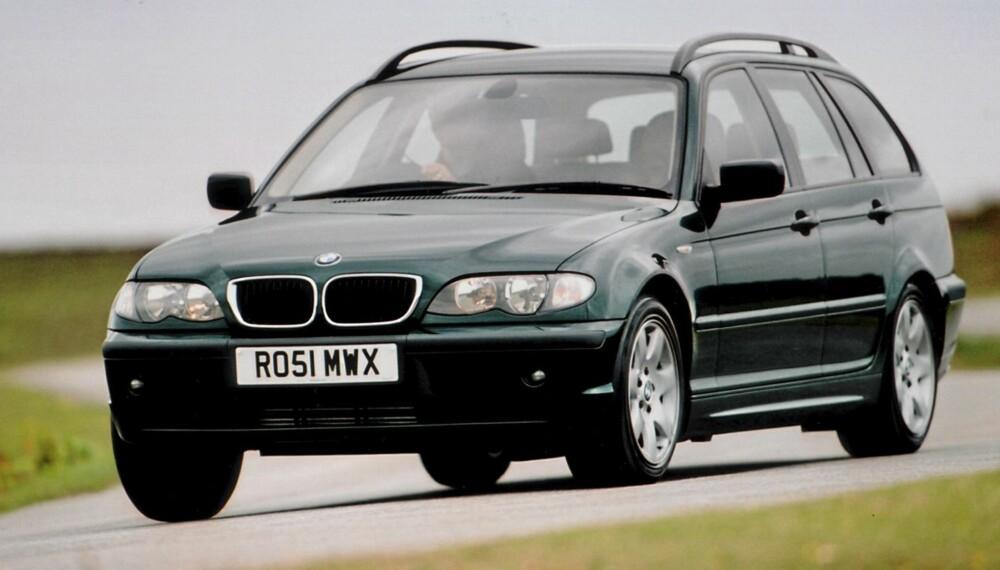 VINNER: Med 852 poeng av 1000 mulige, gjør BMW 3-serie det best på denne statistikken.