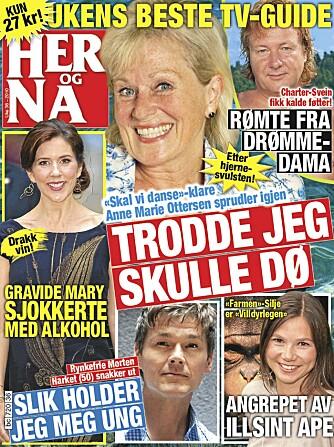 FORSIDEN: Forsiden på Her og Nå-nummeret der intervjuet med Anne Marie Ottersen står på trykk.