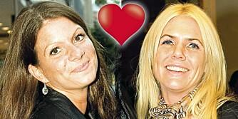 LYKKEN MED LÜTKEN: Kristin Spitznogle (t.h.) tror absolutt det er mulig å finne lykken sammen med Christin Lütken.