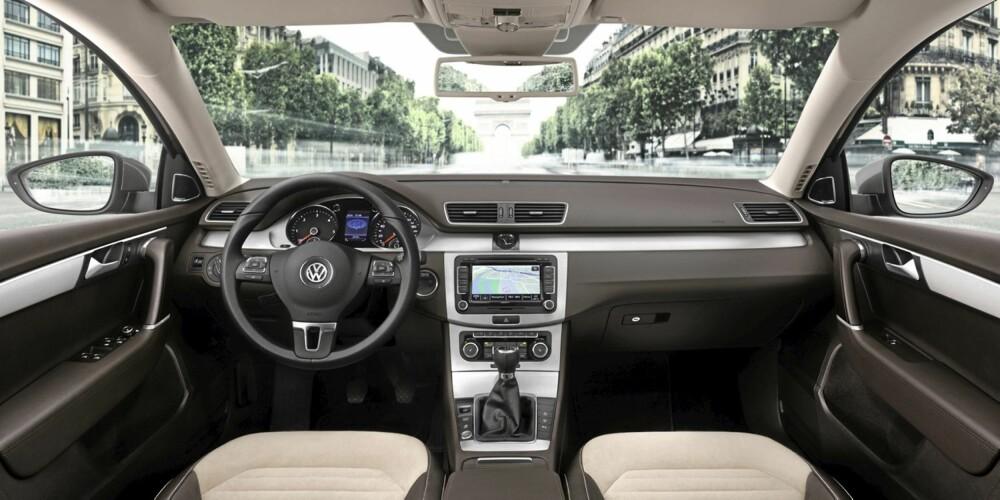 Interiøret i nye Passat blir enda mer premium.