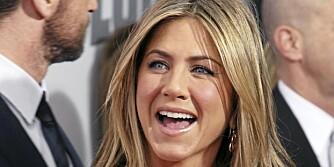 GLØDENDE: La deg gjerne inspirere av Jennifer Anistons delikate makeup.