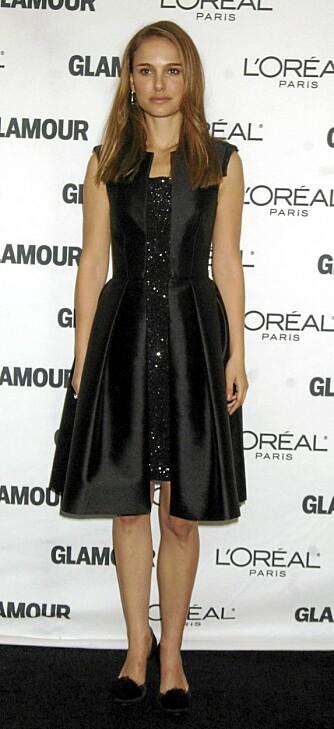 PETIT: Natalie Portman er liten av vekst, og har en typisk petit kroppsfasong.