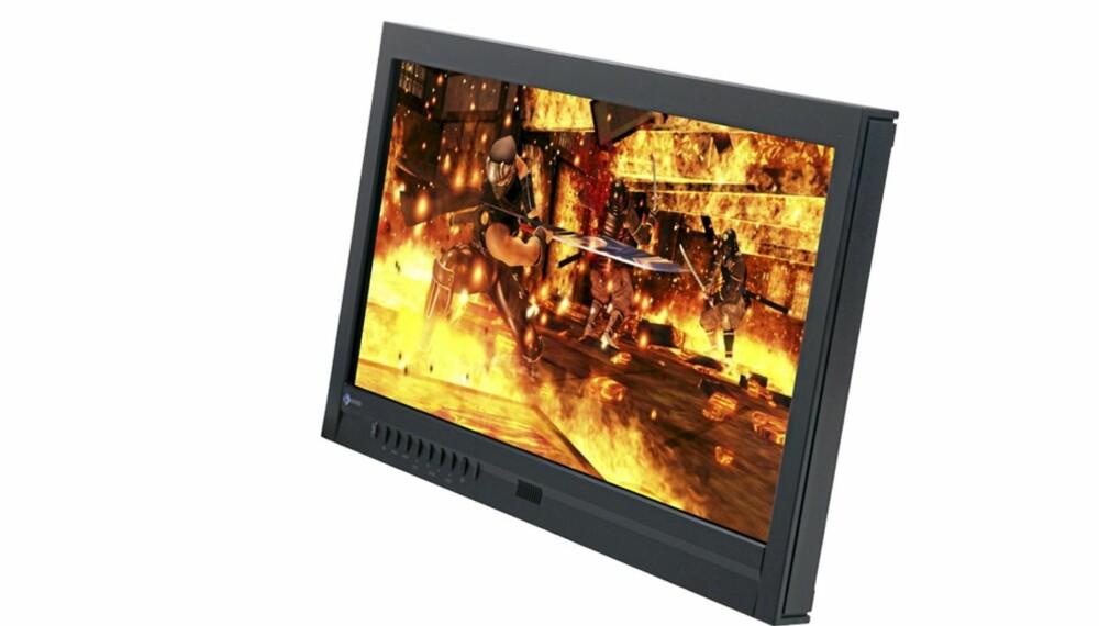 TOUCH: Eizo FlexScan T2351W er en berøringsfølsom skjerm til bruk sammen med en PC.