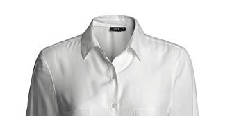 KLASSIKER: Hvit skjorte fra Lindex (kr 249).