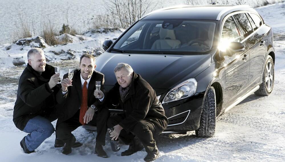 VINNERBILEN: Volvo S60/V60 er vinneren av Årets Bil 2011 i regi av Vi Menn Bil og Dagbladet. Vi gratulerer!