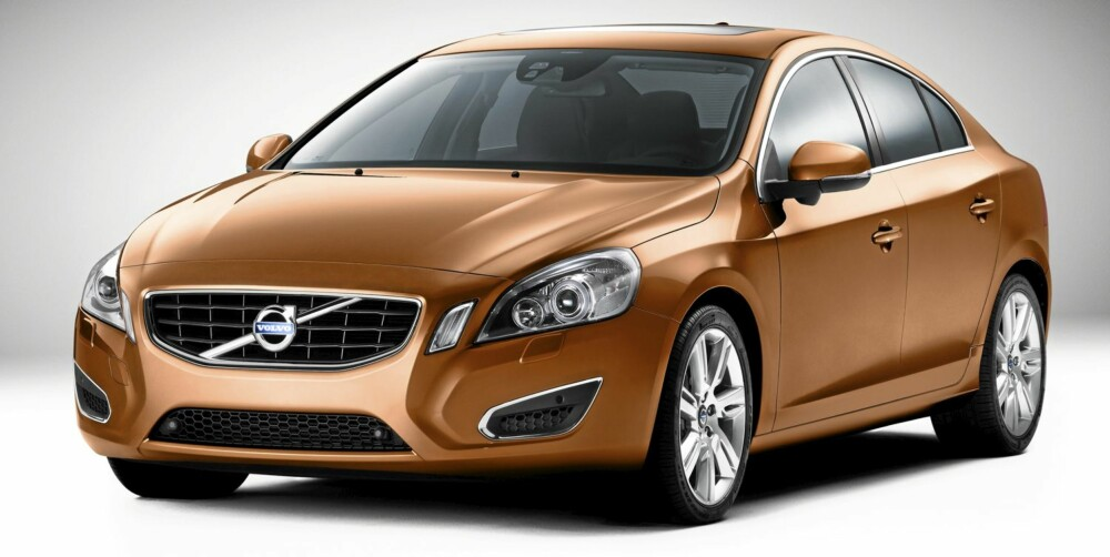 SVENSK STOLTHET: Volvo S60 produseres i Belgia, mens stasjonsvognen V60 blir laget i Sverige.