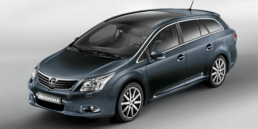 ENGELSKMANN: Toyota Avensis er for mange selve symbolet på japansk kvalitet. Og kvalitet er det, men selve bilen er bygget i England.