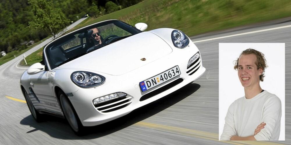 PORSCHE: For Pål Andre sin del gjorde dagene bak rattet i Porsche Boxster inntrykk.