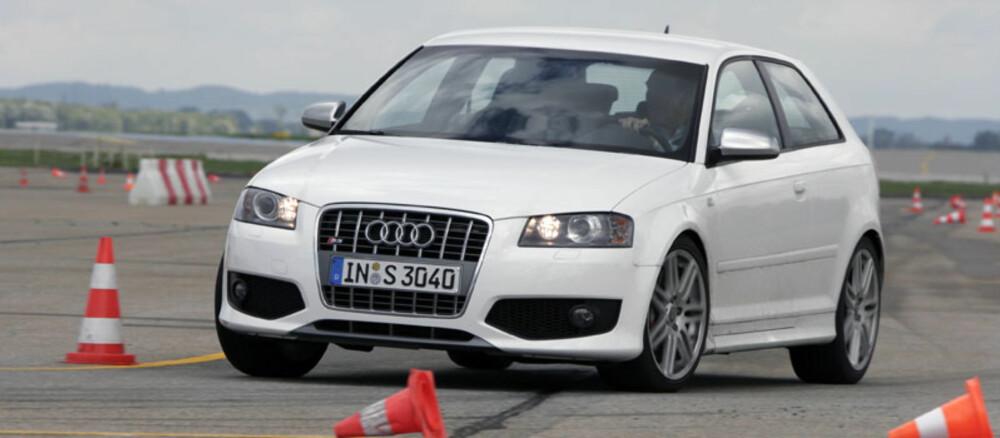 HALDEX: Audi S3 er en av mange modeller som beyntter seg av det svenske Haldex-systemet.