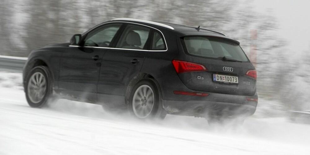 STARTET MOROA: Man kan på mange måter takke Audi for at firehjulstrekk ble populært på vanlige personbiler.