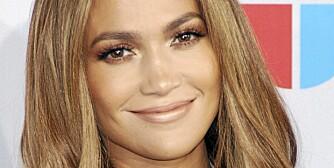 DRØMMEVIPPENE: Få glamorøse vipper som Jennifer Lopez ved å bruke løsvipper.