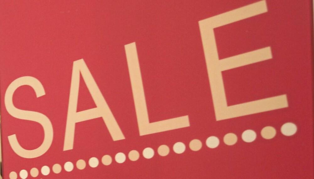 SALG: Her er tipsene til hvordan du gjør kupp på salg.
