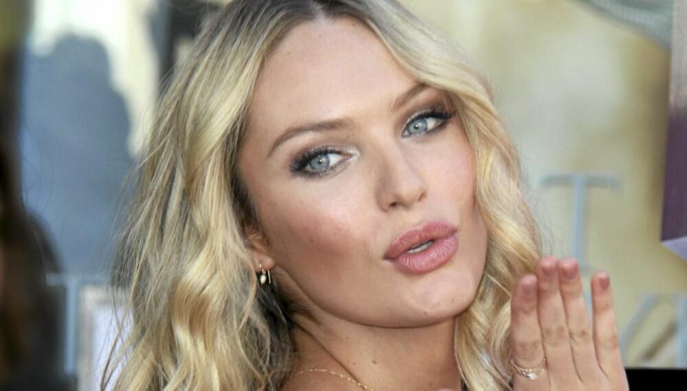 BLI FOTOGEN: Supermodell Candice Swanpoel deler dine beste poserings-tips.