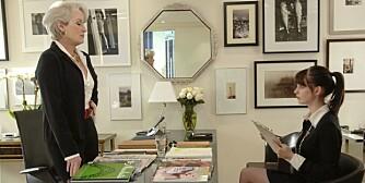 KLESTIPS: Kle deg nøytralt, men fint på jobbintervju. Foto fra filmen The Devil Wears Prada.