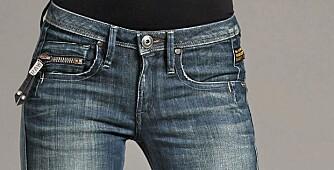 JPLAGGET SOM ALLTID FUNKER: Jeans er et plagg du trytg kan investere i. Dette er trendene som gjelder nå. G-Star Ocean Skinny Jeans/Nelly.com (kr 1099).