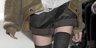 SATS PÅ DENNE: En shorts er det perfekte overgangsplagget, som fungerer like bra i vinter som til våren.