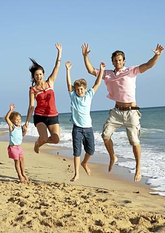 UNNGÅ FERIEMAGEN: Hele familien bør starte med Idoform Travel minst tre dager før avreise.