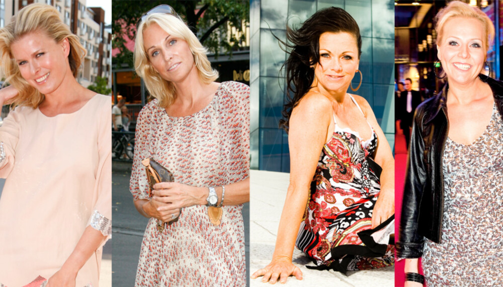 YUMMY MUMMIES: Vendela, Anette, Hilde og Linn: Fire av landets hotteste kjendismammaer.