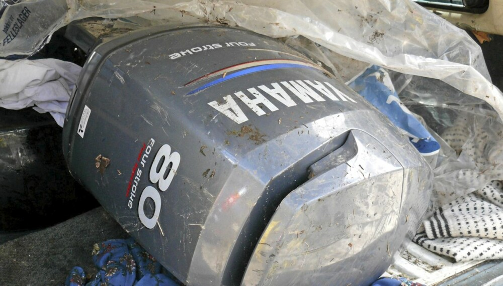 TYVERIGODS: Grenseløs-gruppa i Vestfold slo til mot baltisk båtmotor-liga i 2007. Foto: Vestfold politidistrikt