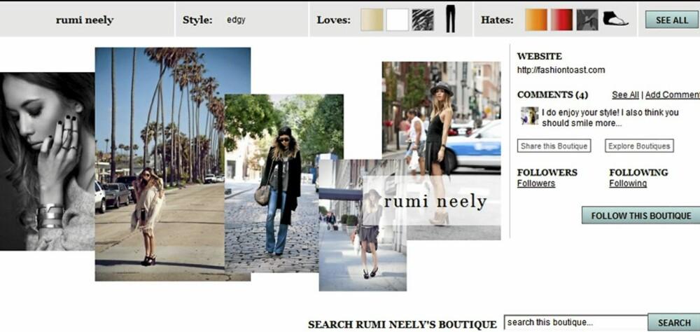 STJEL STILEN: Stilen til blogger Rumi Neely blir kopiert av tusenvis av jenter verden over.